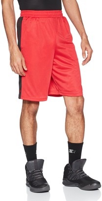 "Starter Men's 10"" Mesh Basketball Short with Stripe Amazon Exclusive"