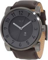 Vestal Men's DOP008 Doppler Oiled Dark Brown Gun Watch