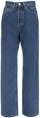 RE/DONE Terty Ladies Straight Leg Denim Jeans