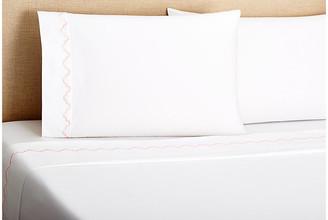 Belle Epoque Francesa Scalloped Sheet Set - Pink Queen