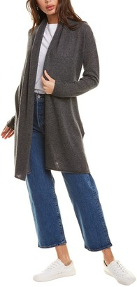 Hannah Rose Breezy Cashmere Duster Cardigan