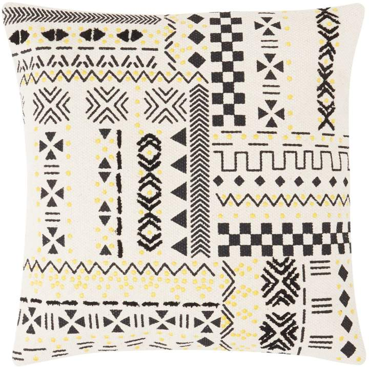 Linea Zulu Soul Culture Print And Embroidery Cushion