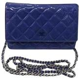Chanel Wallet on Chain patent leather crossbody bag