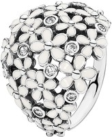 Pandora Ring - Sterling Silver & Enamel Darling Daisy Bouquet