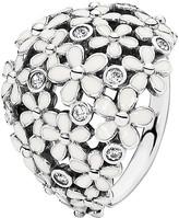 Pandora Ring - Sterling Silver & Enamel Darling Daisy Bouquet