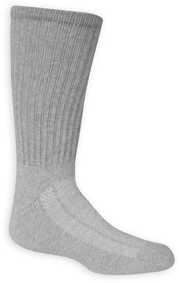 Fruit of the Loom Boys 8-20 6-Pack Breathable Crew Socks