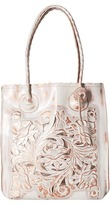 Patricia Nash Metallic Tooled Cavo Tote Tote Handbags