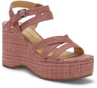 Lucky Brand Carlisha Platform Wedge Sandal