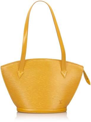 Louis Vuitton Yellow Epi Saint Jacques Gm Long Strap