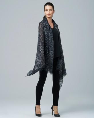 Sofia Cashmere Eyelash Fringed Pure Cashmere Wrap