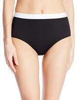 Kenneth Cole New York Women's Got The Beat High-Waist Bikini Bottom