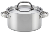 Anolon 3QT. Tri-Ply Clad Stainless Steel Covered Saucepot
