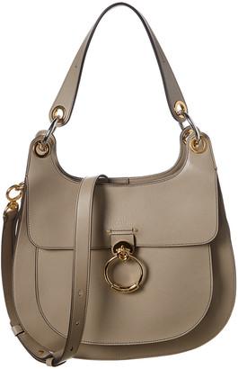 Chloé Kuroe Leather Shoulder Bag