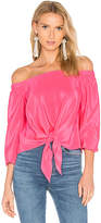 Amanda Uprichard Mila Top in Pink. - size S (also in XS)
