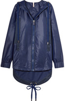 NO KA 'OI No Ka'Oi - Ui Ui Shell And Canvas Hooded Jacket - Navy