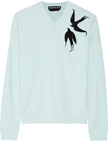 Rochas Sequined wool-blend sweater