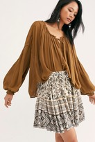 Free People Spell And The Gypsy Collective Journey Mini Skirt by Spell and the Gypsy Collective at Free People, Ash, XS
