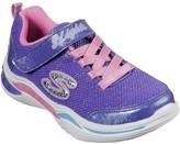 Skechers Girls Power Petals Trainers - Purple