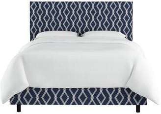 Wrought Studio Edford Slipcover Crossweave Upholstered Standard Bed Wrought Studio