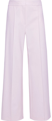 Adam Lippes Wool-blend Wide-leg Pants
