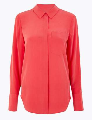 Marks and Spencer Pure Silk Shirt