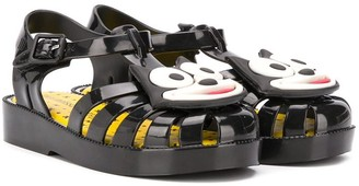 Mini Melissa x Felix The Cat jelly sandals