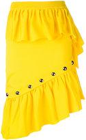 Marques Almeida Marques'almeida studded ruffle skirt