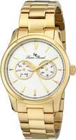 Lucien Piccard Men's LP-12761-YG-22S Stellar Analog Display Japanese Quartz Watch