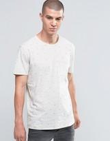 Selected Arrow Print Pocket T-Shirt