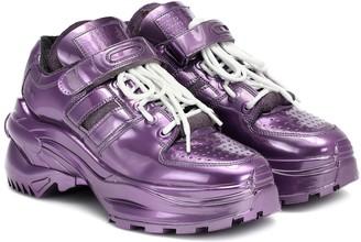 Maison Margiela Retro Fit metallic sneakers