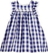 Marmellata Gingham-Print Dress, Baby Girls