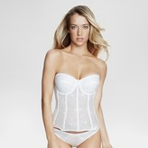 Dominique Women's Embroidered Corset Bridal Bra #8900