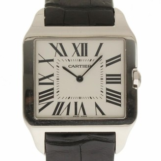 Cartier Santos Dumont White White gold Watches