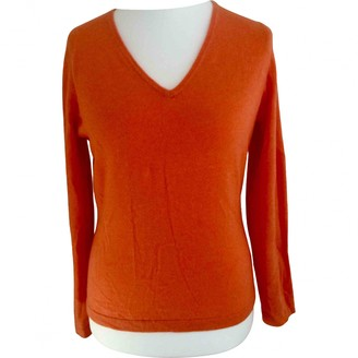 Pure Collection Orange Cashmere Knitwear for Women