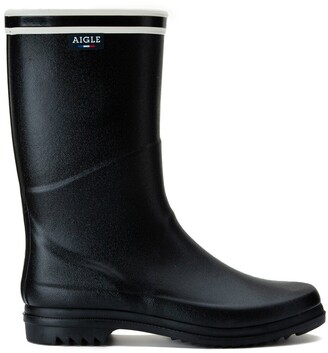 Aigle Chanteboot Stripes Wellies, Made in France