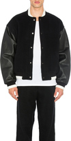 Alexander Wang Varsity Jacket With Leather Combo