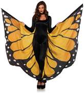 Leg Avenue Festival Monarch Butterfly Wing Halter Cape - Orange/Black - One