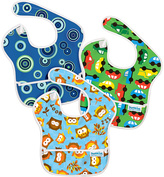 Bumkins Owl Blue Fizz & On the Go Superbib Set