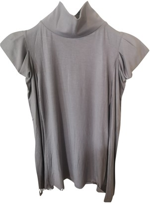 Daniele Alessandrini Grey Top for Women
