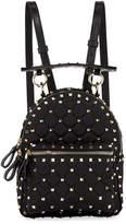 Valentino Rockstud Spike Mini Nylon Backpack