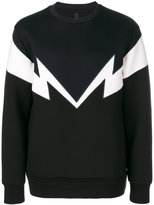 Neil Barrett Bolt to Bolt sweatshirt