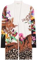 Etro Silk-blend open cardigan