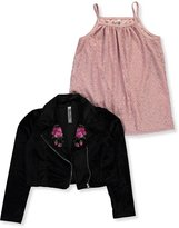 Beautees Big Girls' 2-Piece Top - , 12-14