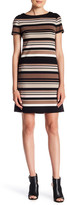 Maggy London Stripe Textured Dress