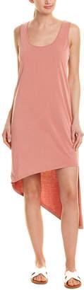 Splendid Cross Back High-Low Midi Dress