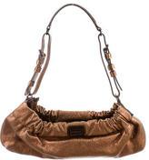 Burberry Metallic Leather Mini Shoulder Bag