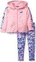 Puma Little Girls' Track Jacket and Legging Set