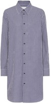 Maison Margiela Checked cotton shirt dress