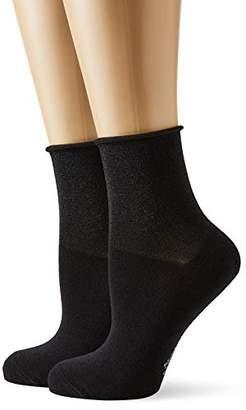 S'Oliver Socks Women's S21136 Ankle Socks Black 9999), (size: 39/42)