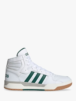 adidas Entrap Mid Leather Lace Up Trainers
